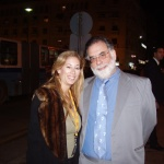Asimina with Francis Ford Coppola