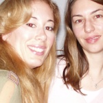Asimina with Sophia Coppola