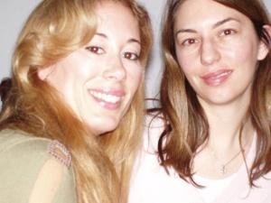 Asimina with Sophia Coppola