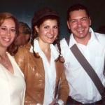 Asimina with Nia Vardalos and Christos Andriopoulos